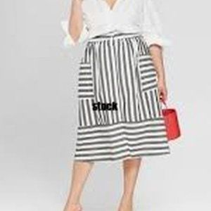Womens Button Front Full Skirt - Who What Wear 16